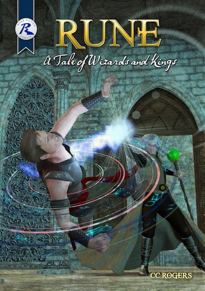 """Rune: A Tale of Wizards and Kings"" Cover"